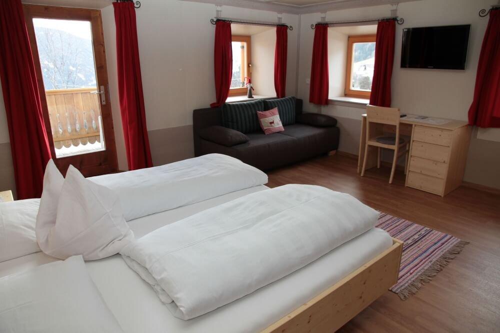 Unsere Zimmerfür Ihren Urlaub in Terenten