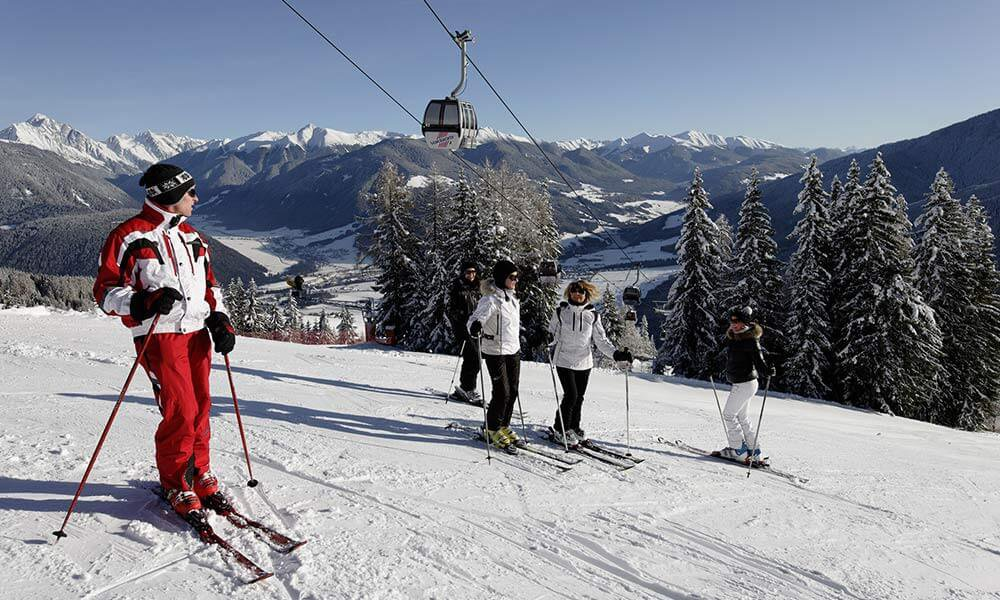 Ski holiday on Kronplatz: Your central accommodation in the Dolomiti Superski network