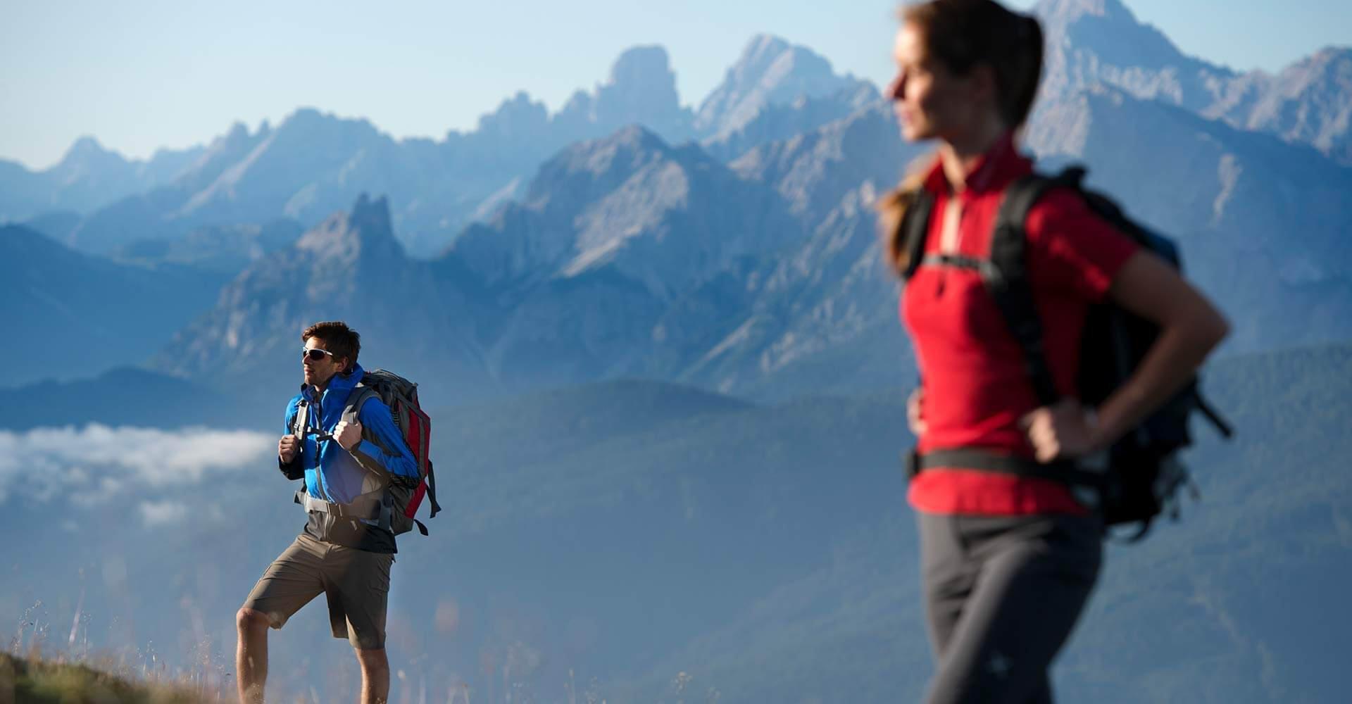 Wandern in Terenten, am Kronplatz und den Dolomiten